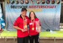 Den Titel Deutsche Meister Mixte holen sich Mercedes Lehner und André Skiba