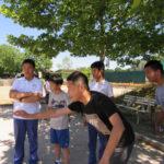 Chinesische Austauschschüler*innen vom Feudenheim-Gymnasium bei Badenia am 04.07.2019