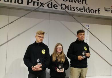 Hallen-Landesmeisterschaft Triplette in Düsseldorf (NRW) am 23.11.2019