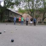 Einführung in den Petanque-Schulsport mit 15 Lehrern aus dem Kreis Freiburg/Breisgau