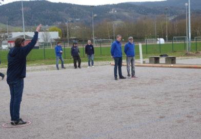 Saisoneröffnungsturnier beim Bühler Boule-Club am 13.04.2019