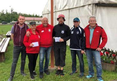 Sieger und Platzierte – Sattelbacher Ranglistenturnier am Pfingstmontag