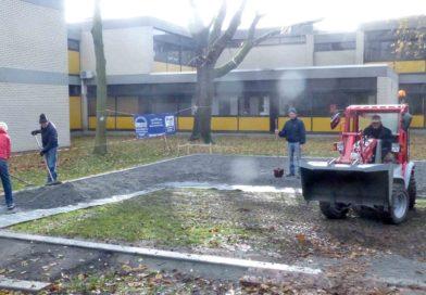 Bouleplatzbau für den Schulsport der Brüder Grimm Grundschule Mannheim