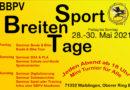 Breitensporttage 2021 – Meldet Euch an!