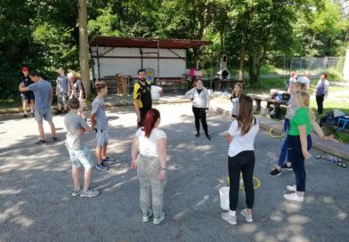 Jugendtraining für Minimes und Cadets beim 1. BC Eggenstein am 11.10.2020